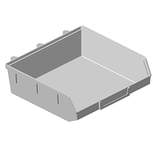20x ELEMENT System Lochwand Minibox 135x135 H 40 weiß Lager Sichtbehälter Sichtlagerkasten 11403-00007