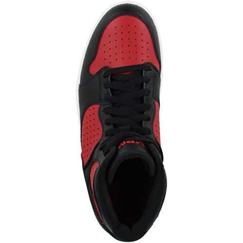Nike Jordan Access, Zapatillas de Atletismo Hombre, Multicolor (Black/Gym Red/White 006), 43 EU