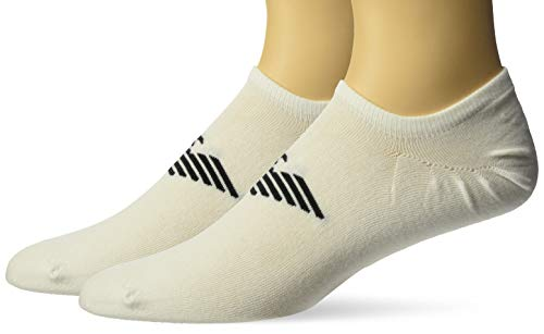 Emporio Armani Calcetines invisibles para hombre, paquete de 2, multicolor, talla única