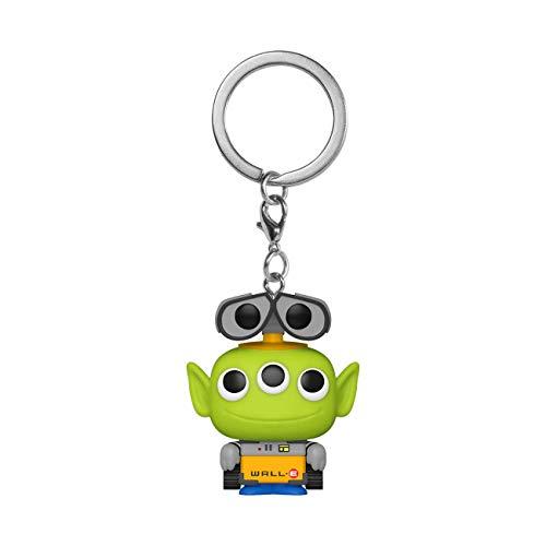 Funko- Pop Keychain: Pixar-Alien as Wall Anniversary Figura da Collezione, Multicolore, 48357