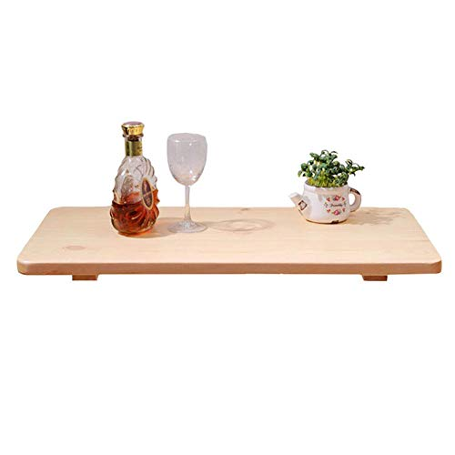 WTT - Wandgemonteerde opklaptafel, opklapbaar keukenbureau en eettafel, houten computerbureau Wandwerkstation (afmetingen: 120x40 cm)
