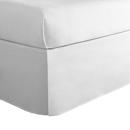 Today's Home Cotton Blend Bed Skirt Dust Ruffle Classic...