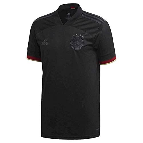 adidas Germany Away Soccer Jersey 2020 (X-Large) Black,...