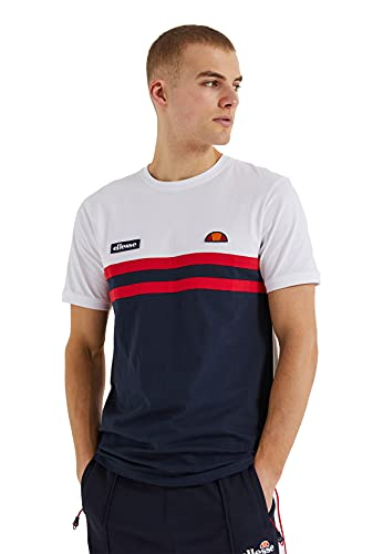 ellesse T-Shirt Herren VENIRE Tee White Mehrfarbig, Größe:M