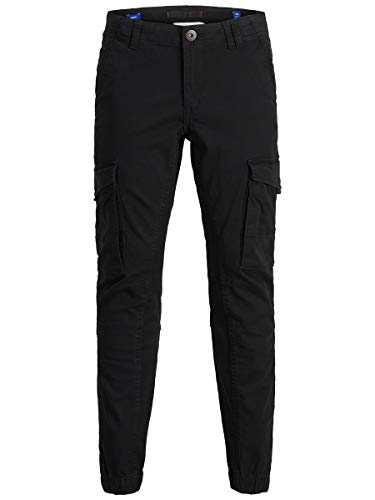 JACK & JONES Boy Cargohose Schwarze Boys 152Black