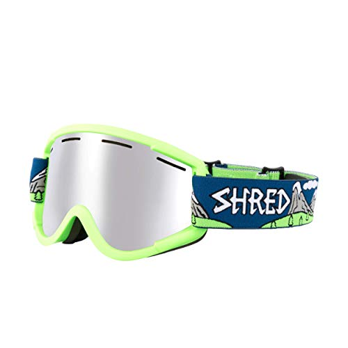 Shred Nastify Needmoresnow Platinum Skibrille, Blue, Einheitsgröße