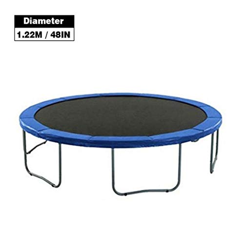 BTHDPP Trampolines, Durable Round, Safety Mat, Tear-resistant Trampoline, Edge Protection Mat, Round Frame Mat (Size : Package 3)