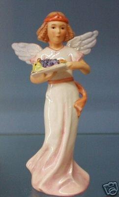 GOEBEL beschermengel engel met fruitschaal herfst NIEUW