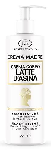 CREMA MADRE, crema corpo al Latte d'Asina specifica per il trattamento Prima&Dopo (previeni e cura) delle smagliature, 250 ml - LR Wonder Company