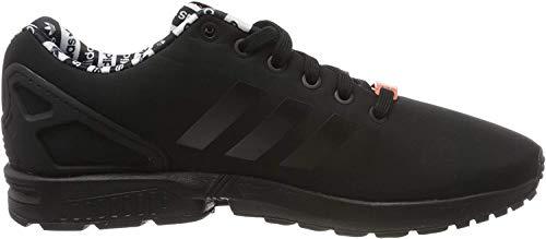adidas ZX Flux, Zapatillas para Hombre, Core Black/Core Black/Semi Coral, 45 1/3 EU
