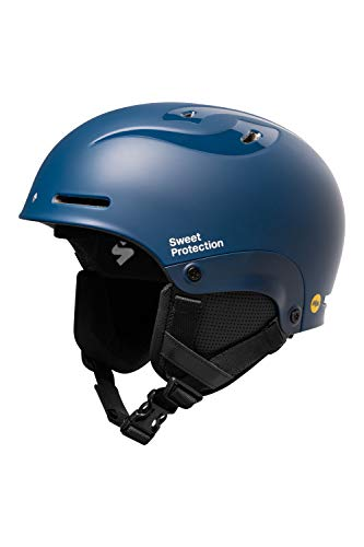 Sweet Protection Blaster II MIPS Casque de Ski/Snowboard pour Adulte Bleu Marine Taille L