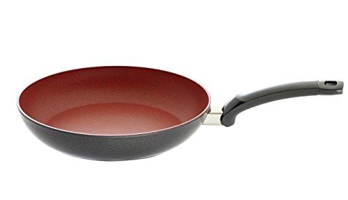 Fissler SensoRed 20cm Ø/Induktion geeignet-157-303-20-100/0 Anti-Haft Pfanne, Aluminium, rot, 20 cm