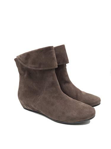 Pretty Nana Zapato de piel auténtica, bota de ante Art. MIU 700501 Marrón Size: 37 EU