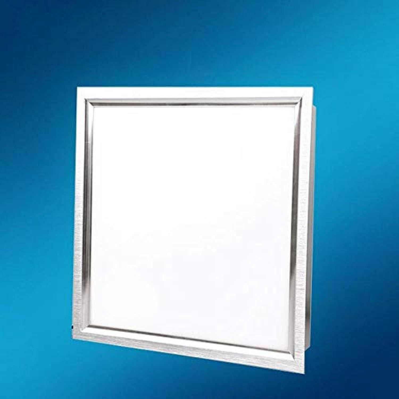 18W LED moderne Deckenleuchte mit Halterungen und Transformator 300  300 1350LM Metall Kunststoff, Aluminium Wei; [Energieklasse A +], 10 W weies Licht 30CMx30CM