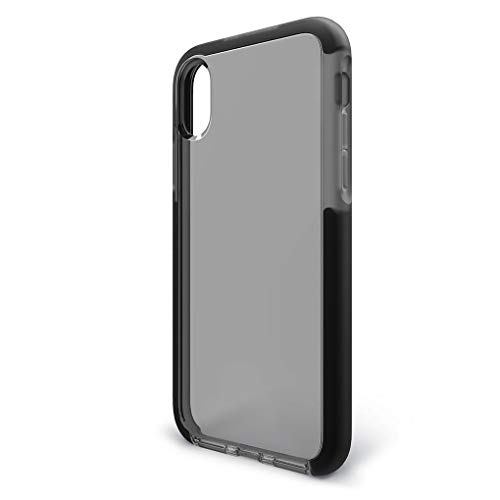 BodyGuardz - Ace Pro Case for iPhone Xs Max, Extreme Impact and Scratch Protection (Smoke/Black)