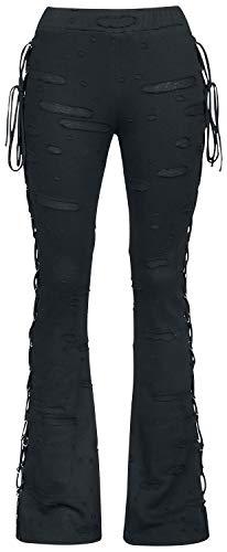 Gothicana by EMP Take Comfort Frauen Leggings schwarz S 95% Baumwolle, 5% Elasthan Basics, Gothic