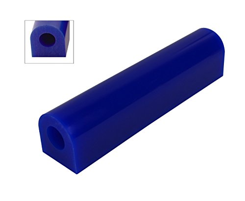 Wax Ring Tube Blue Extra Large Flat Side Medium-Hard Carvable Jewelry Ring Making Lost Wax Casting (FS-7)