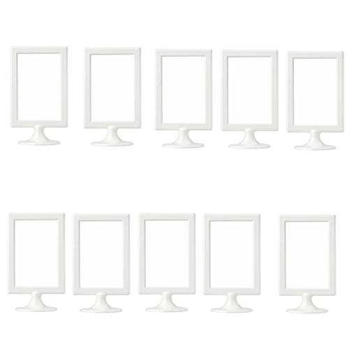 Ikea Tolsby 30151035 Picture Frame Or Table Number Holder For 2 Pictures Pack Of 10 Colour White