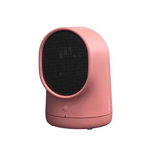 FOLVXY Calentador De Espacio, Calentador Oscilante, Calentador Rápido con Protección contra Sobrecalentamiento, Adecuado para Oficina, Dormitorio,Rojo