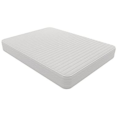 Signature Sleep Contour 8 Inch Reversible Independently Encased Coil Mattress with CertiPUR-US certified foam, Full