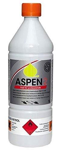 Aspen 2 1 L Liter Vorgemischt 2-takt Alkylate Benzin (50:1)
