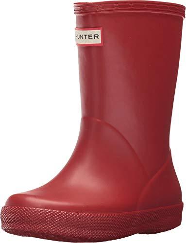 Botas de agua para niños Hunter, diseño clásico, color Rojo, talla 23,5 EU Niño