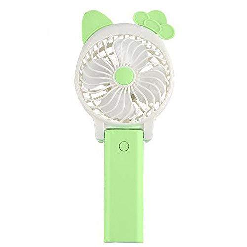 SMGPYLFJ Kleine ventilator, hand-held fan, student hand-held fan, draagbare klep, kleine ventilator, mini-fan, kantoorfan, USB-ventilator