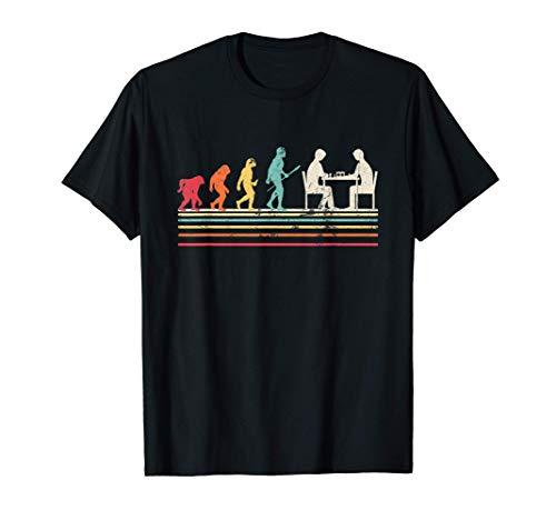 Evolution Ajedrez Regalo para jugadores de Ajedrez Camiseta