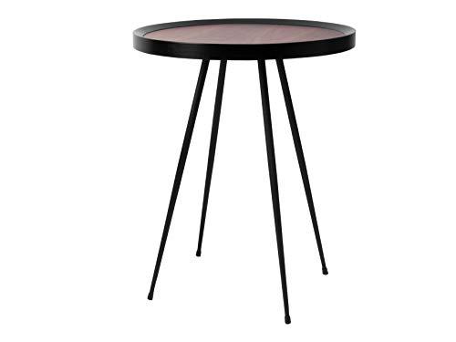 Leitmotiv boottafel, staal, zwart, eenheidsmaat