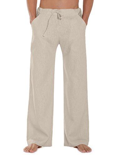 SCHAZAD Leinenhose Essential (XL, beige)