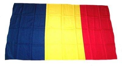 Fahne Stockflagge Rumänien NEU 30 x 45 cm Flagge by FahnenMax®