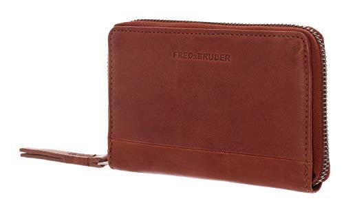 FREDsBRUDER Damen Portemonnaie Pure Wallet Midi braun One Size (XS-XL)