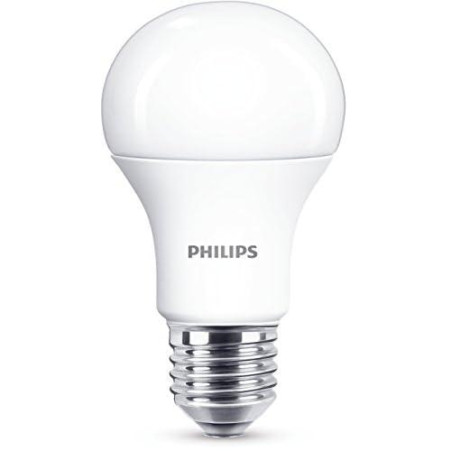 Philips LED100SMCW Lampadina LED Goccia, Plastica, 12.5W Equivalenti a 100W, E27, Trasparente