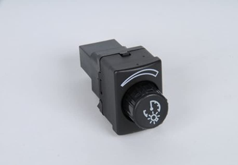 ACDelco D1536J GM Original Equipment Ebony and Red Instrument Panel Dimmer Switch
