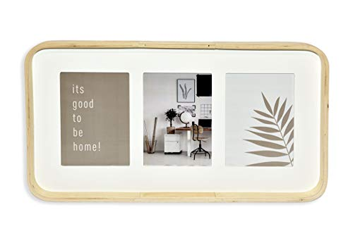 Nielsen Collage 3 Passepartout 3x13x18 Holz Eiche/weiß 8999399