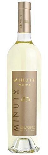 6x 0,75l - 2018er - Château Minuty - Minuty Prestige - Blanc - Côtes de Provence A.P. - Frankreich - Weißwein trocken