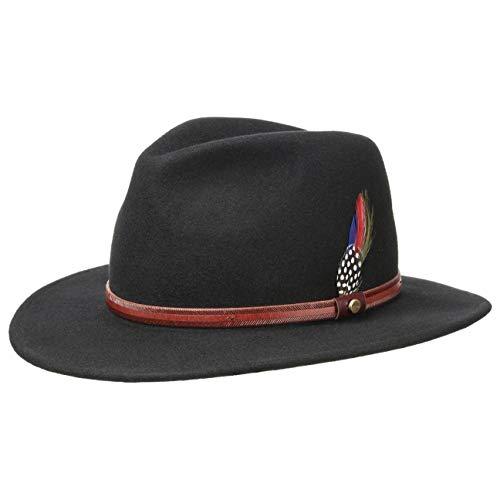 Stetson Rantoul Sombrero de Fieltro para Mujer/Hombre - Sombrero de Ex