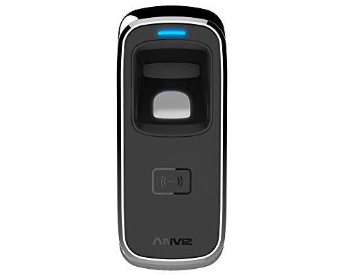 ANVIZ M5Control Acceso biométrico y RFID, IP65para Exterior, Negro