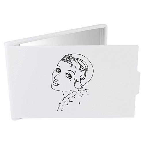 Azeeda 'Art Déco Portrait' Miroir Compact/de Poche (CM00010544)