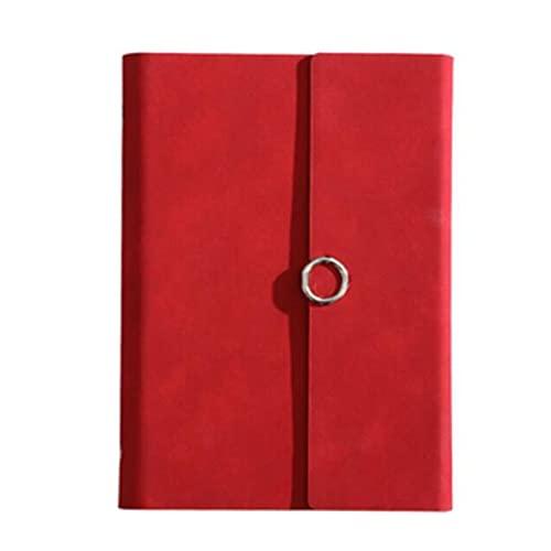 HYAN Cuadernos de autoayuda Cuadernos Cuadernos encuadernados en Espiral para Trabajos Downing Papel Papel de Hojas Sueltas (9 Pulgadas * 6.7IInCH)