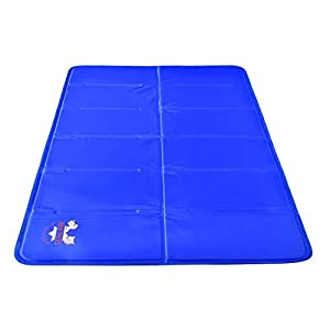 Arf Pets Pet Dog Self Cooling Mat Pad for Kennels, Crates and Beds 23×35
