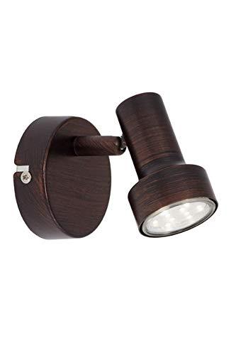 Briloner Leuchten – Lámpara de pared LED con giratorios &