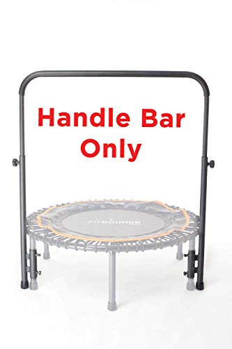 Strong Adjustable Stability Bar Handle for Fit Bounce Pro Rebounder - Mini Trampoline (BAR ONLY)