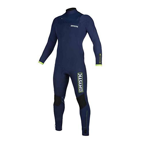 Mystic Heren wetsuit Marshall 5/3 Backzip Navy/Lime Navy L
