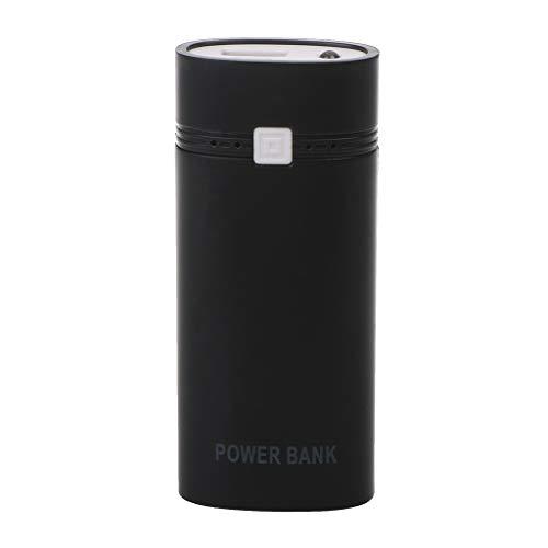 Aawsome DIY 2x18650 batería portátil 5600mAh Power Bank Box Shell con USB para iPhone para Samsung y otros teléfonos inteligentes sin batería 5V