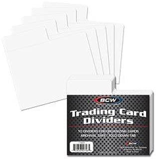 horizontal card dividers