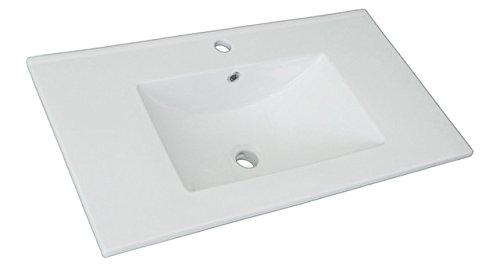 Platos de ducha y mamparas Encimera cerámica (80x46)