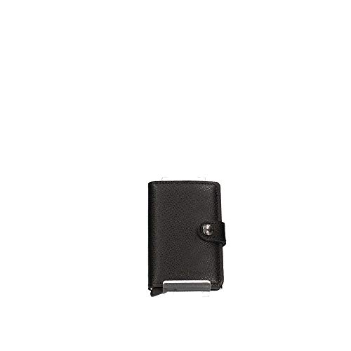 Secrid Miniwallet Crisple, Größe 10,2 cm, schwarz, 10,2 cm
