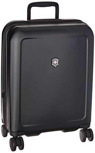 Victorinox Connex Global Hardside Carry-On - Valigia Trolley Bagaglio a Mano Espandibile - Leggero 4 doppie Ruote - 23x35x55cm - 34l - 3,1Kg - Nero