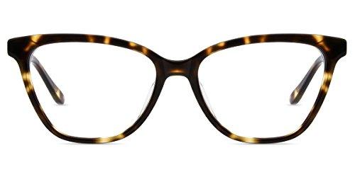 Firmoo Gafas Ordenador luz Azul Mujer Hombre, Gafas Gaming para Antifatiga Anti UV, Gafas protectoras Pantallas Electrónicas, DBSN62343 Tortuga